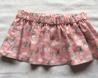 Pink bicycle skirt size 6-12 months