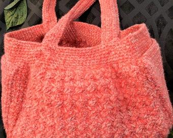 Crochet Purse - Pink Passion