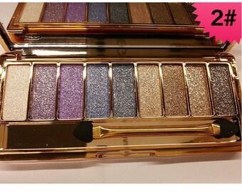 Shimmer eyeshadow palette