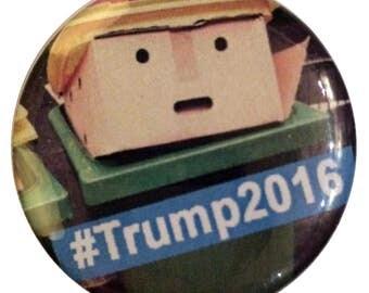 """FUN #4 - """"Garbage Trump"""" badge"""