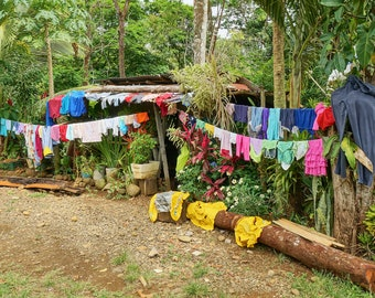Laundry Day - Costa Rica - Giclee Print
