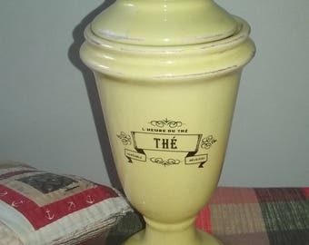 Chabby Antique Looking Apothacary Urn