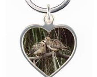 MOURNING DOVE KEYCHAIN - bird gifts