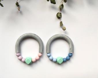 SPRING // Silicone Teething Ring