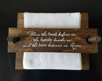 Wooden Napkin Holder - Personalized