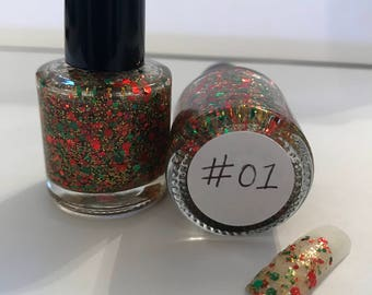 Glitter nail polishes - Limited edition!