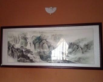 Gurara falls fine art