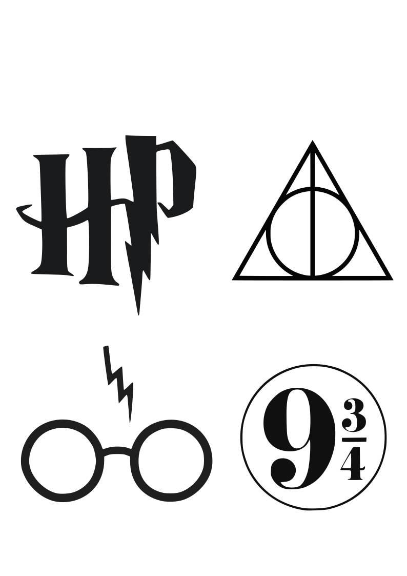Harry Potter Font Svg Harry Potter Alphabet Svg Harry