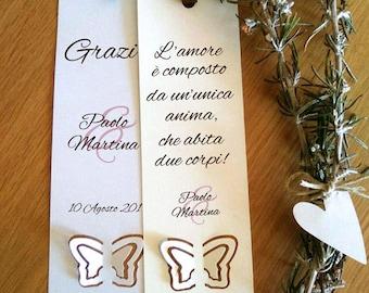 Thanksgiving Placecard wedding. Customizable bookmark wedding. Souvenir wedding.