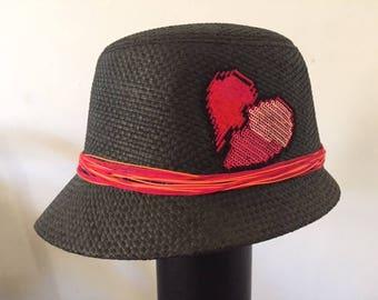 Love Black Cloche Hat