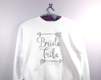 Hen do Top, Bride Tribe Top, Hen do Sweatshirt, Bride Tribe,