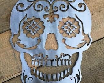 Metal Sugar Skull