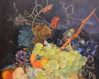 "Original Copy of the Dutch still-life with fruit 23,5"" x 20"""