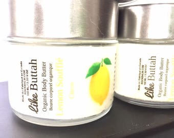 All Organic Body Butter Lemon Souffle