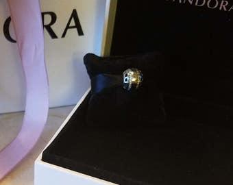 Authentic Genuine S925 ALE Pandora Sterling Silver Forever Pandora Charm 791753CZ  Charm Bead - Fits Pandora Moments Bracelet