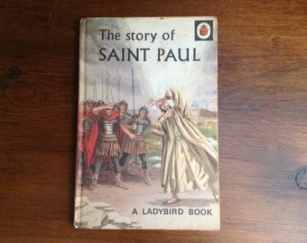 Vintage ladybird book The story of St Paul 1970s