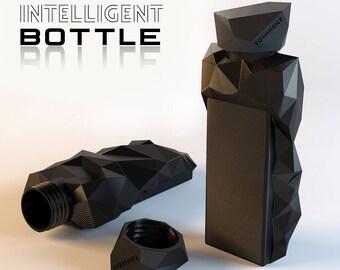 Bottle for Pills. 3d printed