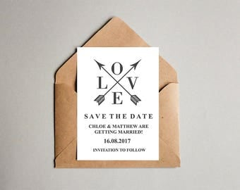 Save The Date, Save The Date Cards, Wedding Save The Date Cards, Save The Date Postcards, Save The Date Wedding Cards, Black and White