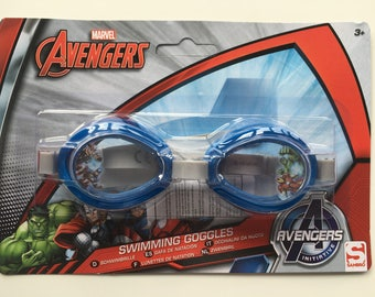 Marvel Avengers Swimming Kids Boys Girls Child Goggles 3+ Thor, Iron Man Captain America - NEW