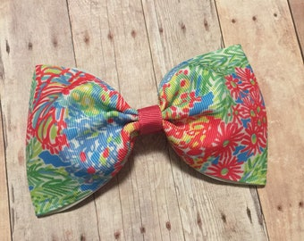 "Lilly Pulitzer Inspired Classic 5"" Bow"
