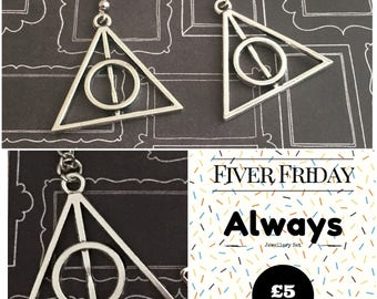 Always Jewellery Set, Fiver Friday, Always Gift, Harry Potter Gift, Harry Potter Jewellery, Always Gift Set.