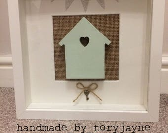 Personalised New Home, House Warming Frame
