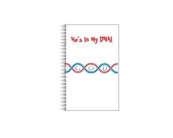 He's In My DNA! Journal
