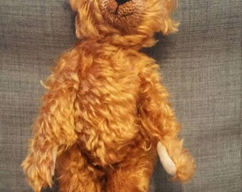 One-of-a-kind Mohair Teddy Bear