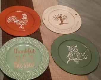 Custom Vinyl plastic plate
