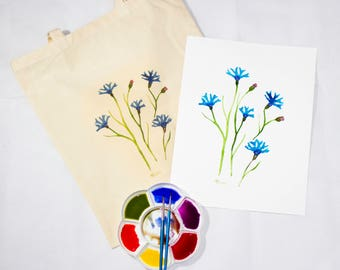 Corn Flower Bag