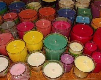 Custom 100% Natural Soy Candles