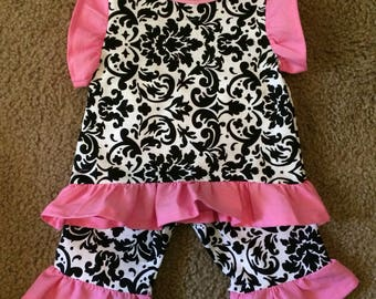Boutique girls outifit 0-3month