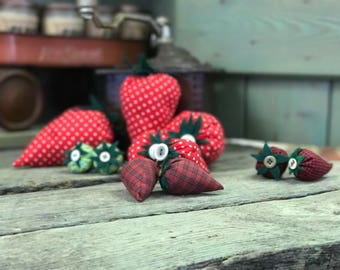 Handcrafted Strawberries