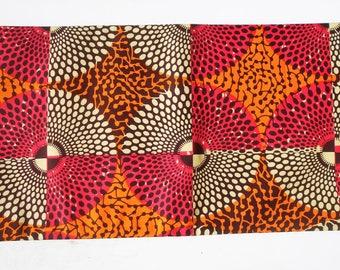 Multi colored Nsubura Ankara fabric, Nsubura fabric, Disc fabric, Circle fabric, Anakara Print, African Print fabric, Dashiki fabric, kente