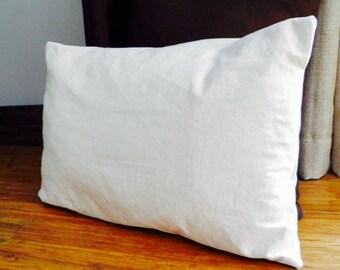 Green 100% linen cushion