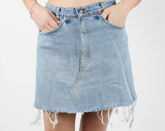 Vintage Levis Denim Skirt- 30 inches