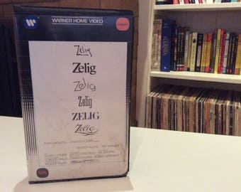 Zelig (1983) Woody Allen, Mia Farrow - VHS Tape - Used