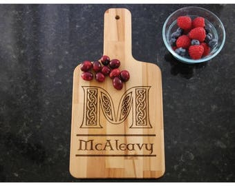 Customized Wooden Cutting Board with Handle