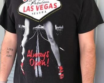 Vintage Black Las Vegas Tee