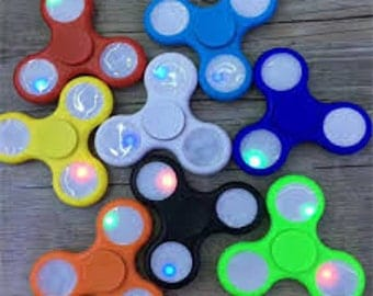 LED Fidget Spinner Toys