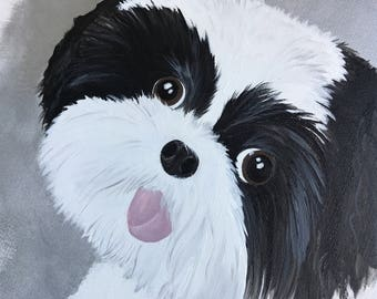 Custom portait of your dog or any pet