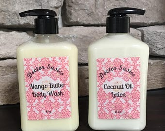 Doctor Susies All Natural Body Wash and Lotion