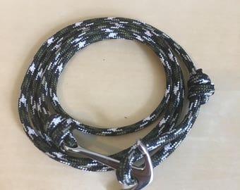Bracelet anchor BLUEFISH in khaki stainless steel