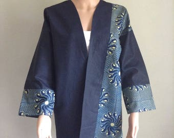 Certified WAX kimono jacket and jeans 40/42/44