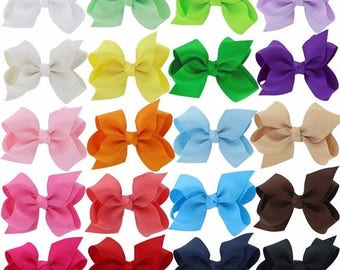1 dollar bows! You pick 10 for 10, 2 inch hair bows, baby bows