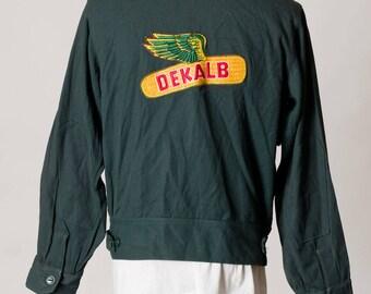 DEKALB Green Jacket, Size 40, by PROTEXALL, Sanforized