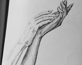 Illustration of Two Hands