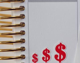 Dollar Sign Planner Sticker