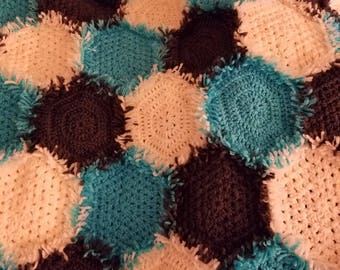 Throw Blanket - Hexagon