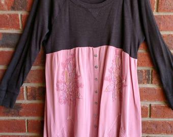 Dusty pink tunic